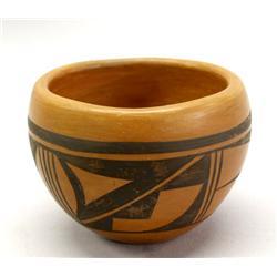 Vintage 1974 Hopi Bowl By Talashie