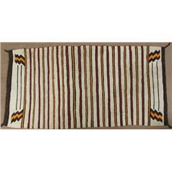 Vintage Navajo Double Sided Saddle Blanket