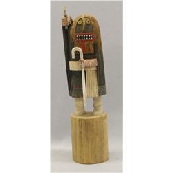 Vintage Hopi Soyok Wuhti Kachina By Garcia
