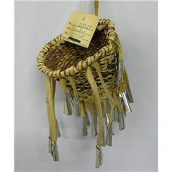 Apache White Mountain Burden Basket By L Kenney
