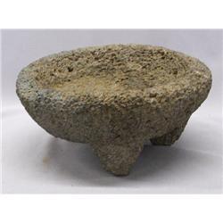 Vintage Mocajete Stone Mortar