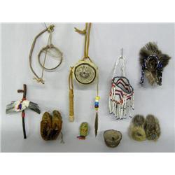 7 Native American Miniature