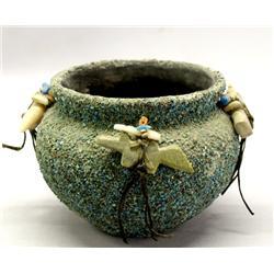 Vintage Zuni Fetish Pot
