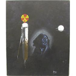 1987 Original Chebon Barnoskie Painting