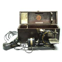 Antique Wilcox And Gibbs Sewing Machine