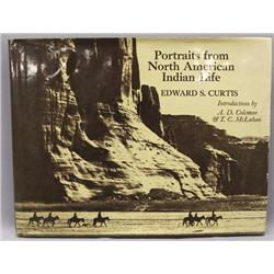 1972 Book Portraits NA Indian Life By E.S. Curtis