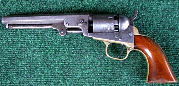 Colt Model 1849 cap and ball Revolver