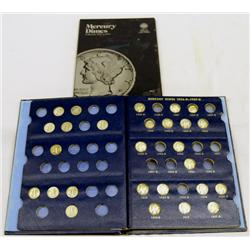 35 Mercury Dimes
