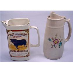 2 VINTAGE SYRUP PITCHERS - *2 TIMES THE MONEY - YO