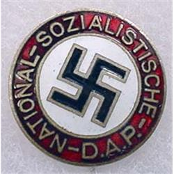 WW2 GERMAN NAZI D.A.P. STICK PIN