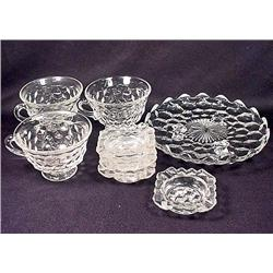 LOT OF FOSTORIA GLASSWARE - Cups, Ashtrays, More!
