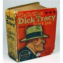 "1937 DETECTIVE DICK TRACY ""SPIDER GANG"" BIG LITTLE"