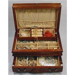 JEWELRY BOX W/ CONTENTS