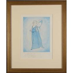 Pinocchio BLUE FAIRY LE Framed Etching Art Print Disney