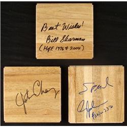 B Sharman J Chaney Avery Johnson Signed Floor Boards