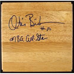 Otis Birdsong NBA Signed Floor Board NBA NCAA