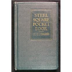 Steel Square Pocket Book Dwight D. Stoddard