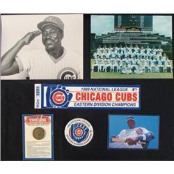 Chicago Cubs Baseball Collectors Items Photos Pin Lot