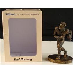 MIB Hartland HOF GB Packers Paul Hornung Signed Statue