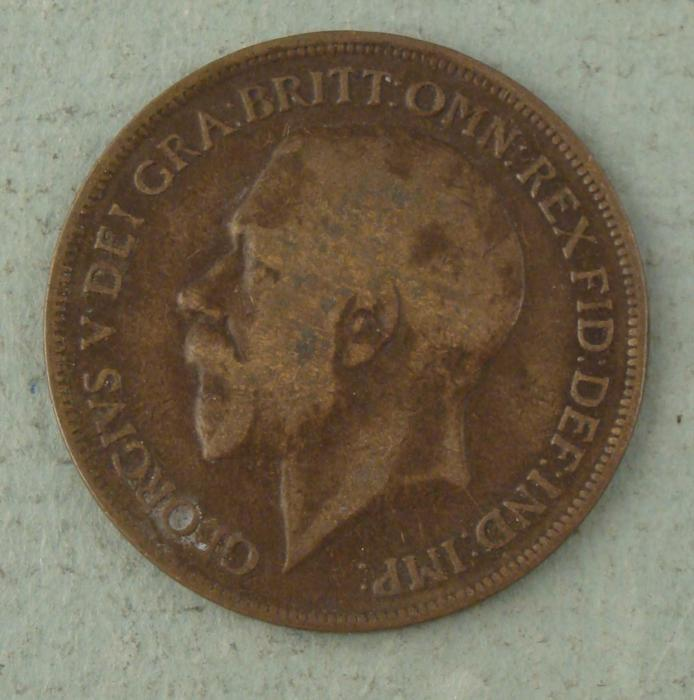 one penny 1919 coin value