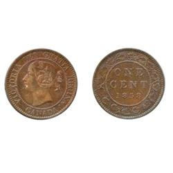 1858.  Both ICCS and CCCS graded EF-40.  Medal alignment. Rotated dies.  Cleaned.