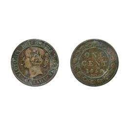 1858.  ICCS Very Fine-20. Mark;  1859. Wide 9/8. Medal.  CCCS graded Fine-15.