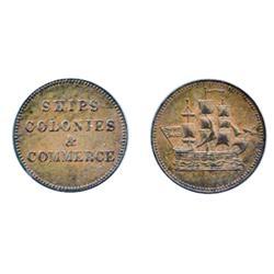 Breton-997. PE10-28. Lees-28. Ships, Colonies & Commerce. British Flag. AU.