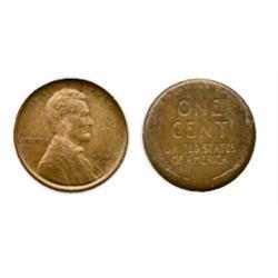 1909-S. V.D.B. ANACS graded Extra Fine-45. A well struck 'key'date.