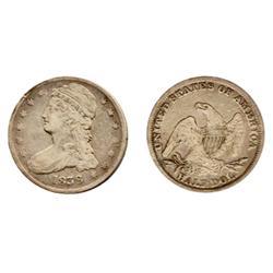 BUST HALF DOLLAR. 1838. ICCS Very Fine-30.