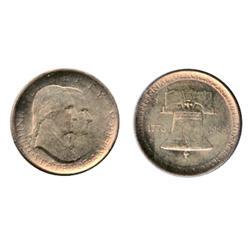COMMEM. HALF DOLLAR. 1920. Pilgrim. ICCS Mint State-63; 1926. Sesquicentennial. ICCS Mint State-63.