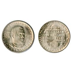 HALF DOLLAR. 1946-S. Booker T. Washington.  Brilliant Mint State-63.