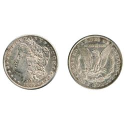 MORGAN DOLLAR.  1888-S. Extra Fine-40. Brilliant.