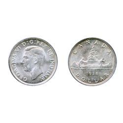 1938.  ICCS Mint State-62.  Brilliant.