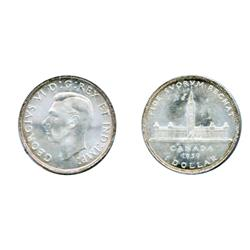 1939.  ICCS Mint State-65.  A brilliant Gem.