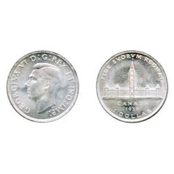 1939.  ICCS Mint State-64.  Brilliant.