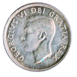 1948.  AU-50.  A brilliant example of the 'key' date.