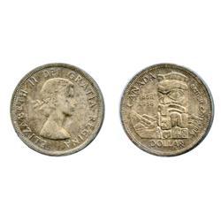 1958.  ICCS Mint State-65.