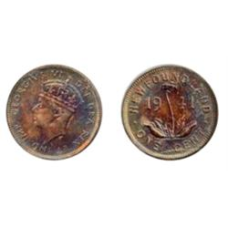 1941-C. ICCS Mint State-62. Red and Brown; 1943-C. ICCS Mint State-63. Red and Brown. Both with 30%
