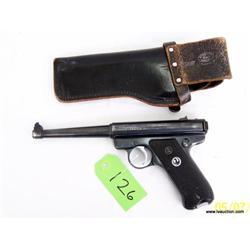 Ruger MK I .22 L.R. Semi Auto Pistol