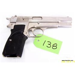 Browning Semi Auto 9mm Pistol