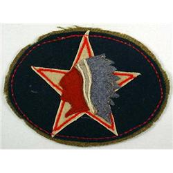 SCARCE WW1 US ARMY SECOND DIVISION SHOULDER PATCH