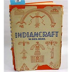 1953 INDIANCRAFT HARDCOVER BOOK W/ DUST JACKET - T