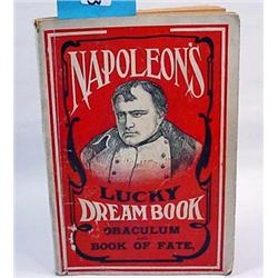 "EARLY ""NAPOLEON'S LUCKY DREAM BOOK"" - FORTUNE TELL"