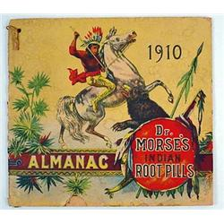 1910 DR. MORSE'S INDIAN ROOT PILLS ADVERTISING ALM