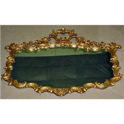 VINTAGE MIRROR W/ GOLD GILDED FRAME - Approx. 49""