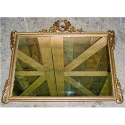 """VINTAGE MIRROR IN GOLD GILDED FRAME - Approx. 32"""""""