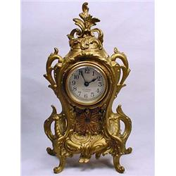VINTAGE SETH THOMAS 4 JEWEL FRENCH CLOCK - Approx.