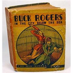 "1934 ""BUCK ROGERS IN THE CITY BELOW THE SEA"" BIG L"