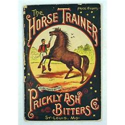 "VINTAGE ""THE HORSE TRAINER"" BOOKLET PUBLISHED BY T"