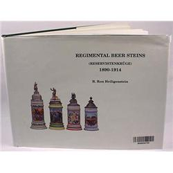 GERMAN REGIMENTAL BEER STEINS REFERENCE BOOK